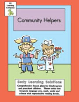 Community Helpers Literacy Math Theme