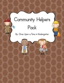 Community Helpers Literacy Pack