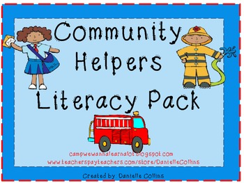 Community Helpers Literacy Pack (Common Core)
