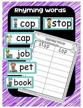 Community Helpers Literacy Packet