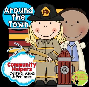 Community Helpers: Nouns, Syllables, Fluency
