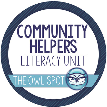 Community Helpers Literacy Unit - Print and Go!