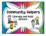 Community Helpers Literacy and Math Centers