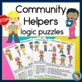 Community Helpers Logic Puzzles