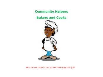Community Helpers Lunch Ladiies
