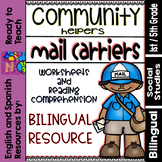 Community Helpers - Mail Carriers - Carteros (Bilingual Set)