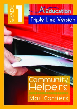 Community Helpers - Mail Carriers (with 'Triple-Track Writing Lines')