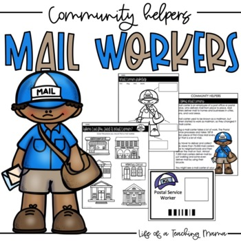 Community Helpers: Mail Worker