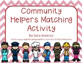 Community Helpers Matching Activity