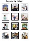 Community Helpers Matching Board