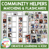 Community Helpers Boards + Flashcards