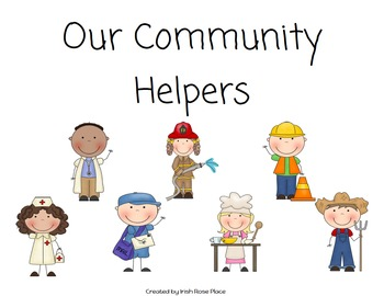 Community Helpers Matching Book (Adapted Book)