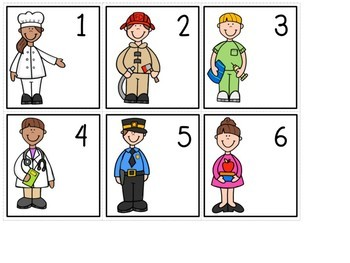 Community Helpers Math Activities - FREE