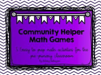 Community Helpers Math Games