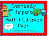 Community Helpers Math & Literacy Pack (CCSS)