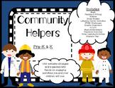 Community Helpers Math Literacy STEM  activities   -----