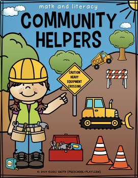 Community Helpers Math and Literacy