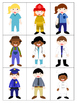*Print and Play* Vocabulary Builders - Memory Games - Community Helpers