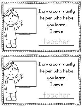 Community Helpers Mini-Book