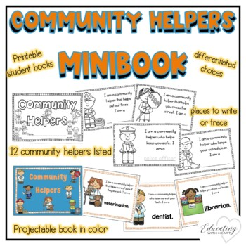 Community Helpers Mini-Book