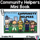 Community Helpers Mini Book for Early Readers