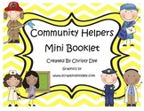 Community Helpers Mini Booklet