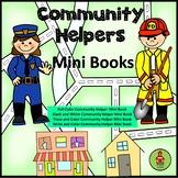 Community Helpers Mini Books
