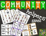 Community Helpers Mini Bundle- Games