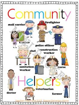 Community Helpers Mini Packet