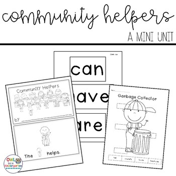 Community Helpers Mini Unit