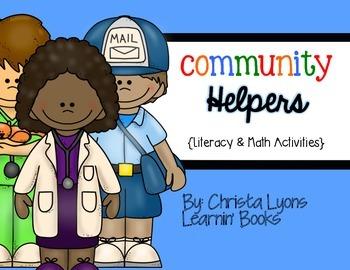 Community Helpers {Literacy & Math Mini Unit}