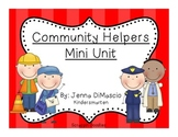 Community Helpers Mini Unit (Reading,Writing,Math)