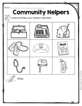 photo regarding Community Helpers Printable Book titled Local Helpers Mini Guides and Printables