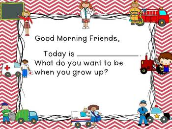 Community Helpers - Morning Messages