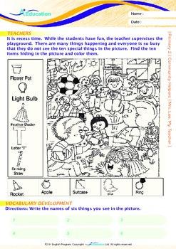 Community Helpers - Mrs. Lee, My Teacher - Grade 2