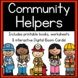 Community Workers / My School Community Helpers { printable books & worksheets }