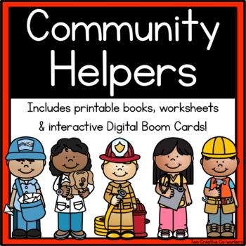 Community Workers / My School Community Helpers { printabl