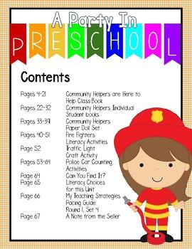 Community Helpers- My Teaching Strategies Round 1, Set 4