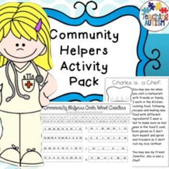 Community Helpers No Prep Activities Pack