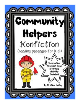 Community Helpers - Nonfiction Reading Passages
