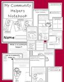 Community Helpers Notebook