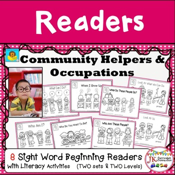 Community Helpers & Occupations - Beginning Readers for Guided Reading