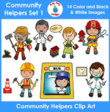 Community Helpers & Occupations Clip Art