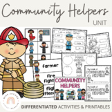 Community Helpers Thematic Unit | great for distance learn