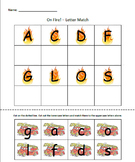 Community Helpers - On Fire! Letter Match