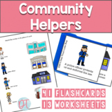 Speech Therapy Community Helpers Packet