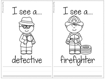 Community Helpers Packet
