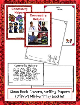 Community Helpers Literacy and Math Activities Packet