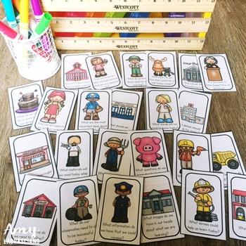 Community Helpers Partner Pairing Cards