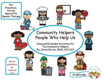 Community Helpers - People Who Help Us